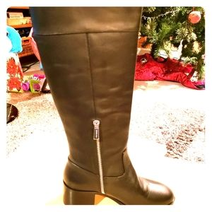 Michael Kors Dylyn Leather Boots